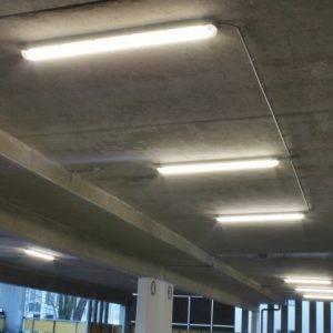 Ledverlichting Centrumgarage Deventer