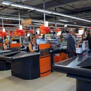Diverse Coop supermarkten