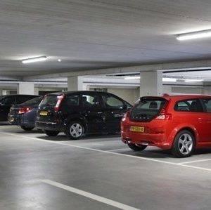 Ledverlichting parkeergarage Disselhof te Apeldoorn